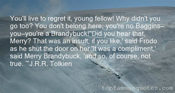 Quotes About Merry Brandybuck