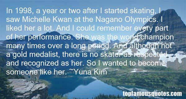 Quotes About Michelle Kwan