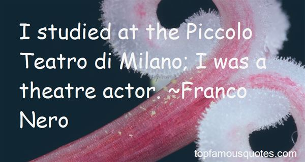 Quotes About Milano