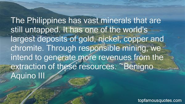 Quotes About Mineral