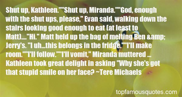 Quotes About Miranda Tempest