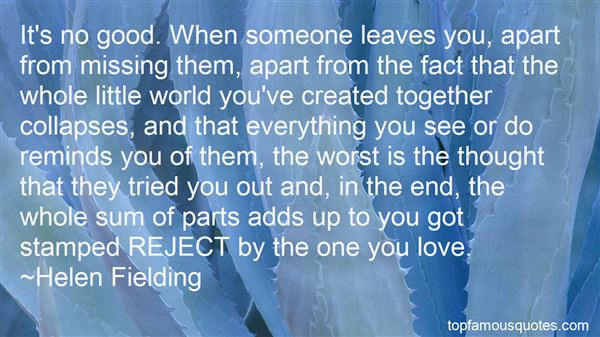 Quotes About Missing One You Love