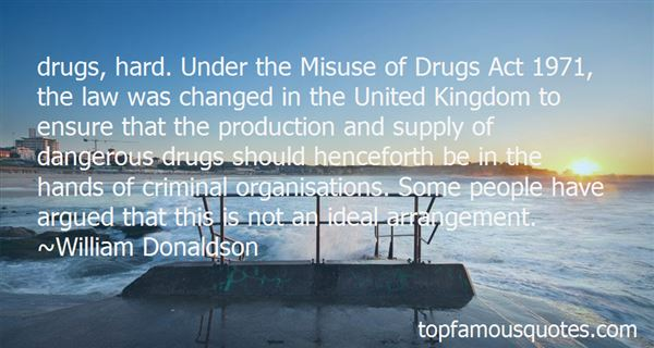 Quotes About Misuse Of Drugs