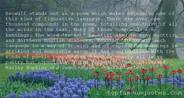 Quotes About Modernist Poetry