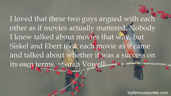 Quotes About Movie Sequels