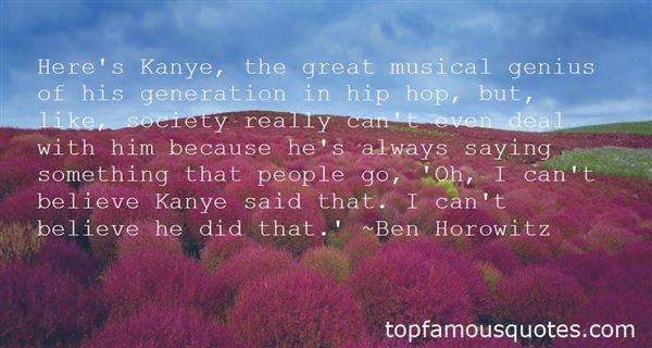 Quotes About Musical Genius