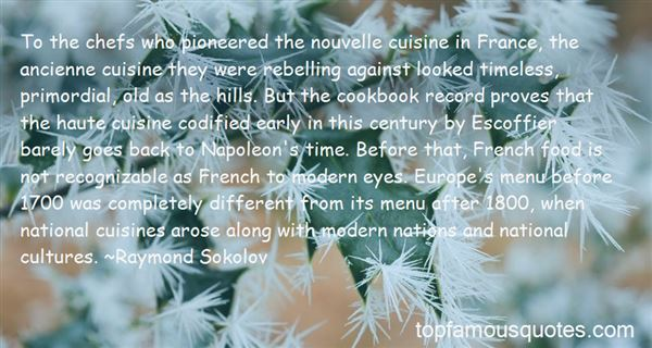 Quotes About National Cuisine