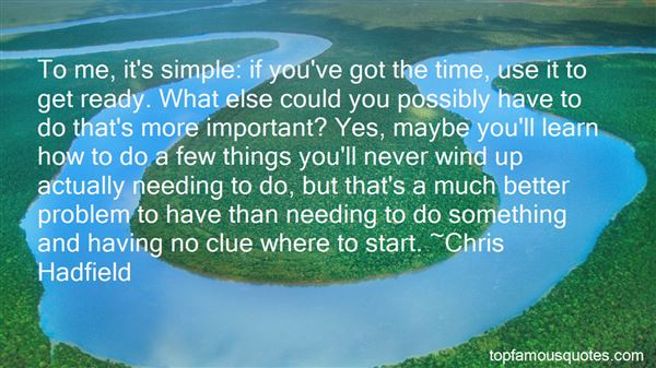 Quotes About Needing Something More