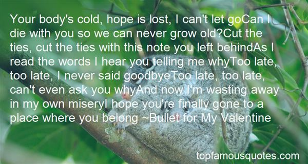 Quotes About Never Grow Old