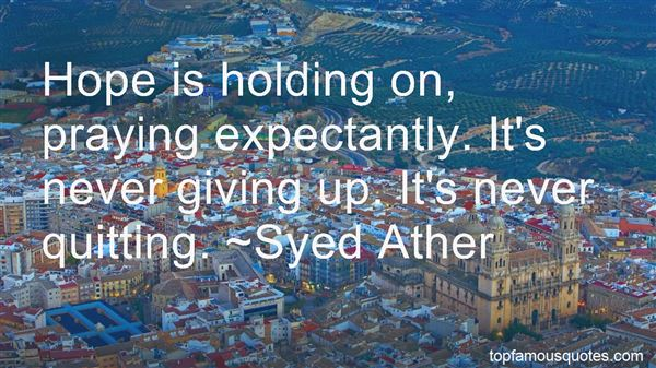 Quotes About Never Quitting