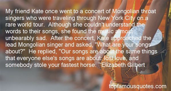 Quotes About New York City From Songs