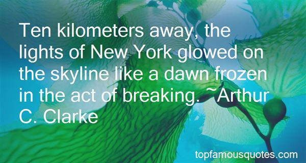 Quotes About New York Skyline