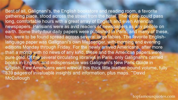 Quotes About News Reading