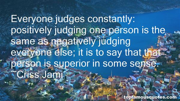 Quotes About Not Judging A Person