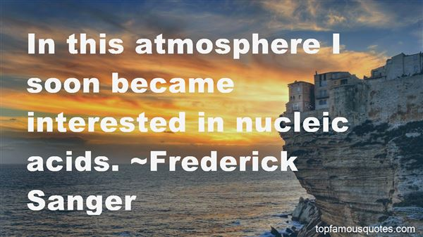 Quotes About Nucleic Acids