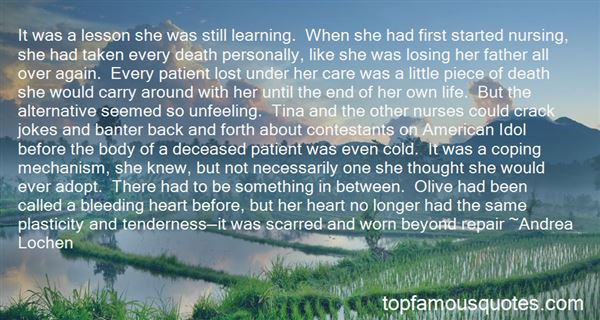 Quotes About Nurses And Death