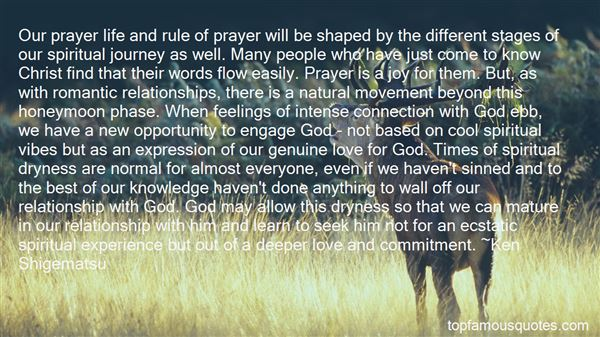 Quotes About Our Journey With God