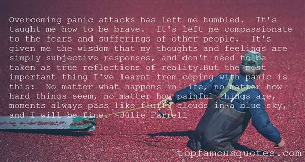 Quotes About Overcoming Panic