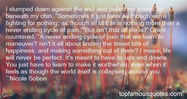 Quotes About Pain Ending