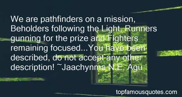 Quotes About Pathfinders