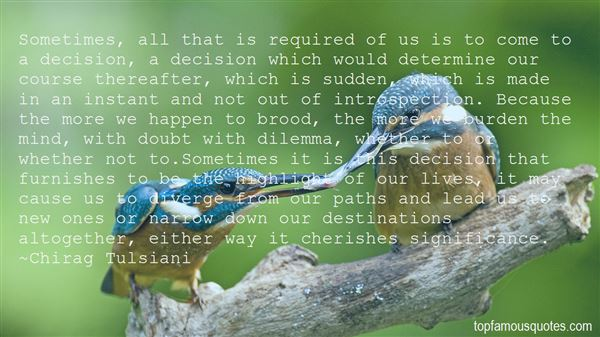 Quotes About Paths And Destinations