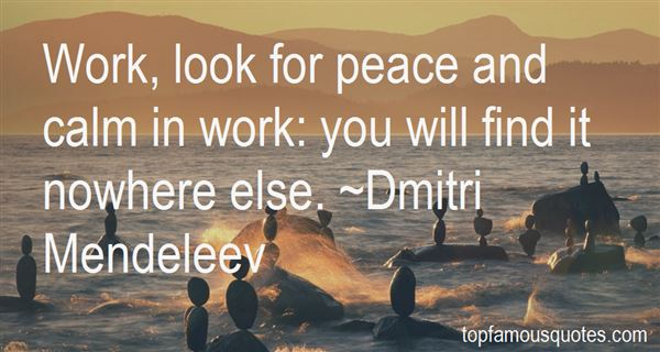 Quotes About Peace And Calm
