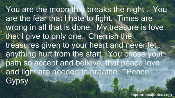Quotes About Peace At Night