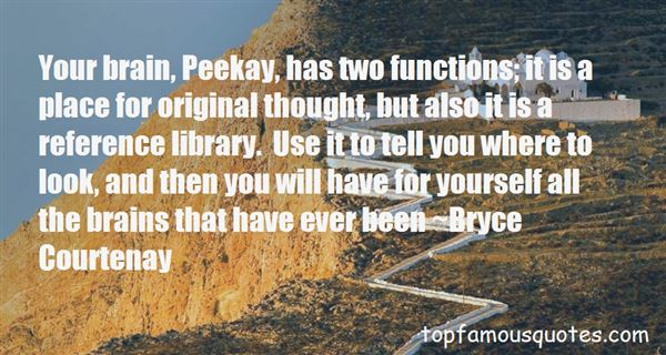 Quotes About Peekay