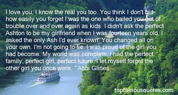Quotes About Perfect Girlfriend