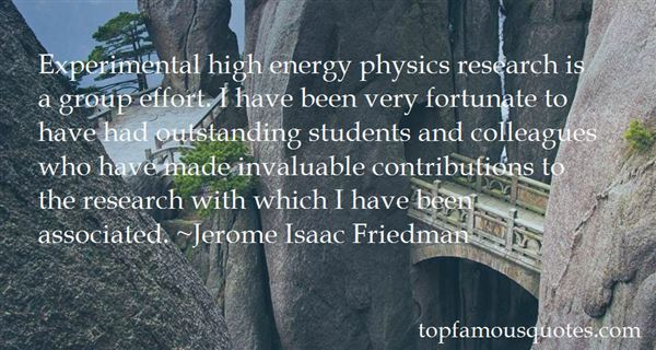 Quotes About Physics Research