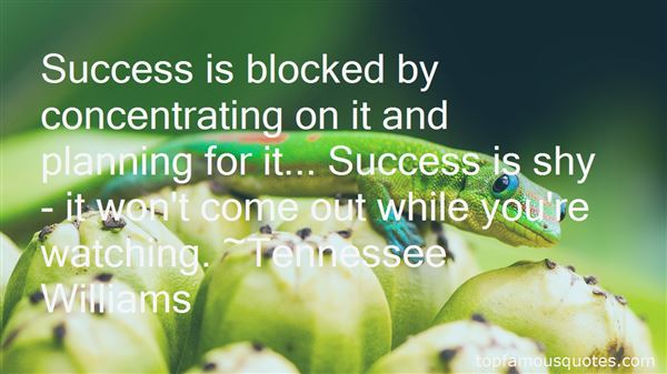 Quotes About Planning Success