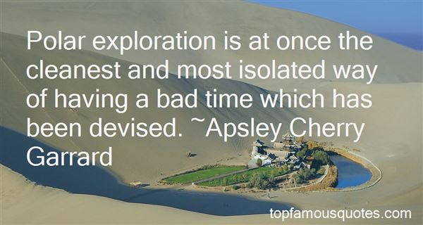 Quotes About Polar Exploration