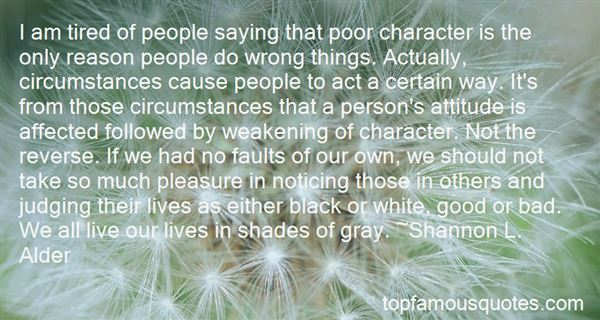 Quotes About Poor Character