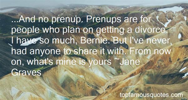 Quotes About Prenup