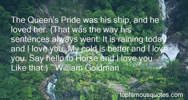 Quotes About Pride And Love