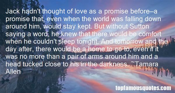 Quotes About Promise And Love