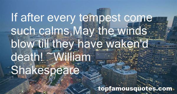 Quotes About Prospero In The Tempest