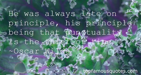 Quotes About Punctuality And Promptness