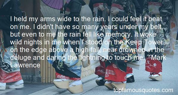 Quotes About Rain Hiding Tears