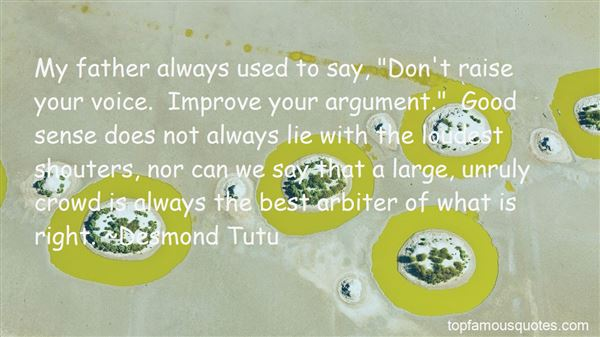 Quotes About Raise Your Voice