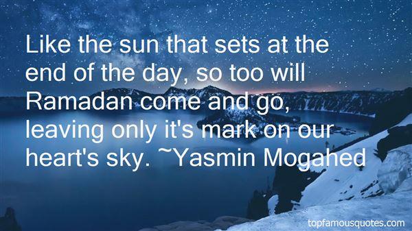 Quotes About Ramadan Mubarak
