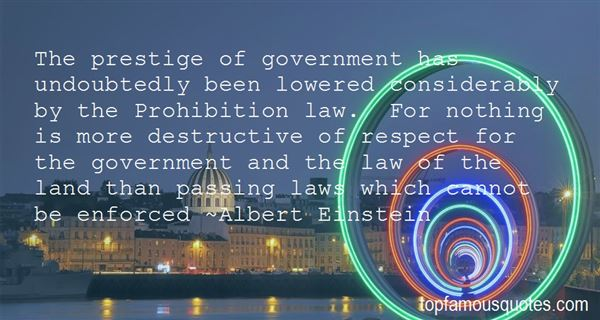 Quotes About Respect For Law And Government