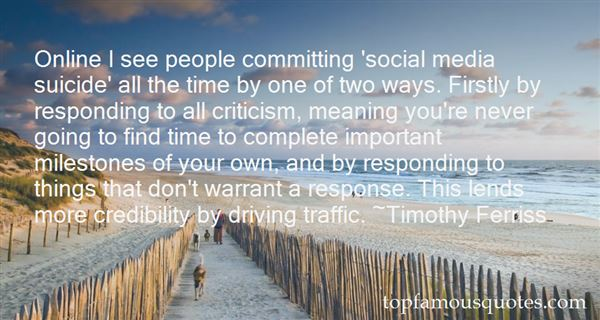 Quotes About Responding To Criticism