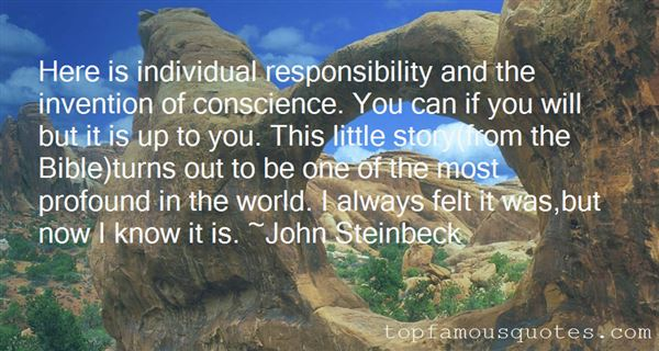 Quotes About Responsibility In The Bible