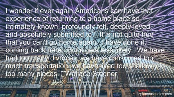 Quotes About Returning Back Home