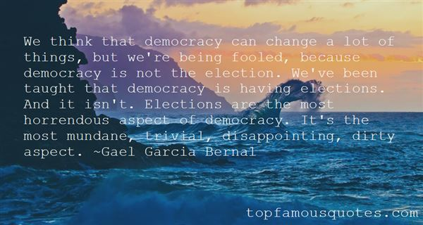 Quotes About Rigged Elections