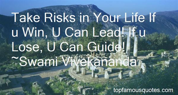 Quotes About Risks And Chances