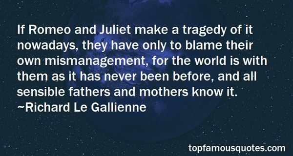 Quotes About Romeo And Juliet Tragedy