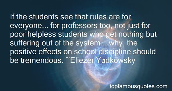 Quotes About Rules In School