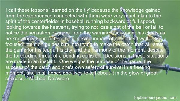Quotes About Running Game